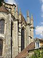 Larchant (77), basilique Saint-Mathurin, chevet - chapelle de la Vierge.JPG