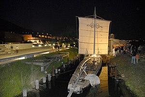 Bevaix - Reconstruction of the Gallo-Roman Bevaix Boat