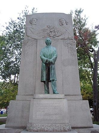 Dorchester Square - Tribute to Sir Wilfrid Laurier, 1953, Joseph-Émile Brunet