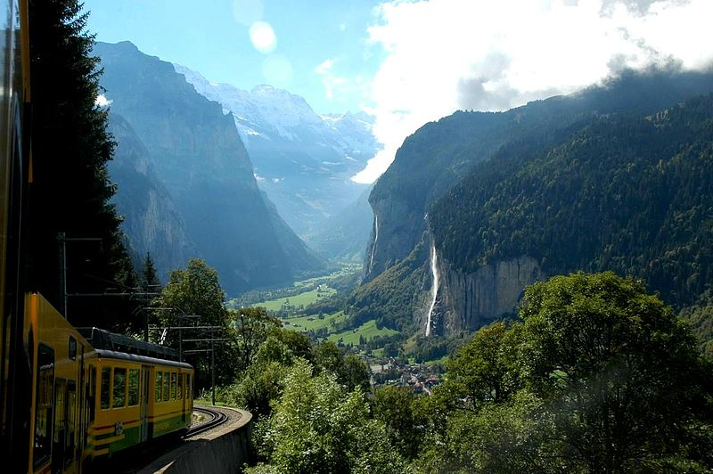 see: the Swiss Alps