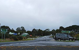 Lavers Hill - Great Ocean Road at Lavers Hill