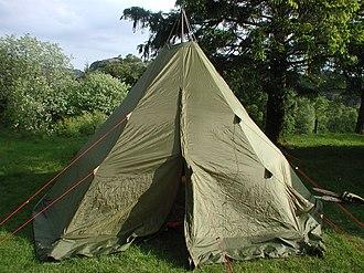 Lavvu - Central-poled lavvo-like tent