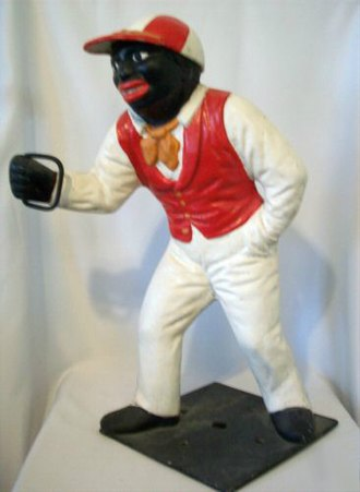 "Lawn jockey - The ""Jocko"" style hitching post"