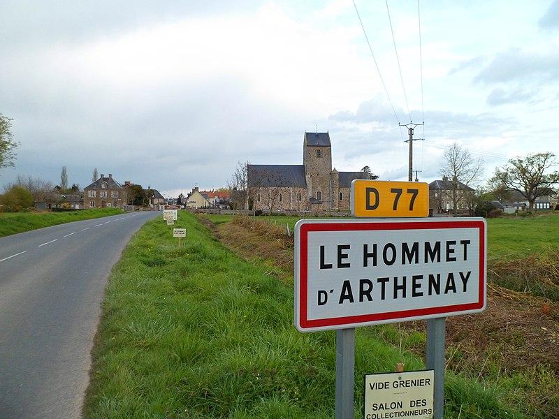 Hommet-d'Arthenay