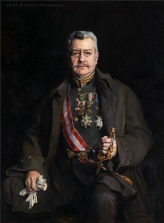 Louis II, Prince of Monaco - Portrait by Philip de László, 1928