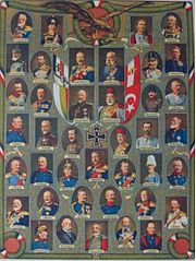Leaders of the Central powers