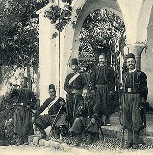 History of Lebanon - Lebanese soldiers, 1861-1914