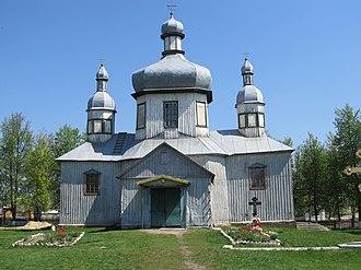 Lebedyn - Image: Lebedyn Voskresenska church