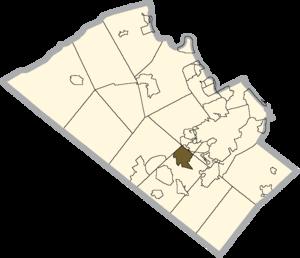 Wescosville, Pennsylvania - Image: Lehigh county Wescosville