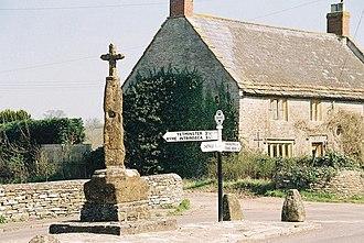 Leigh, Dorset - Leigh village cross