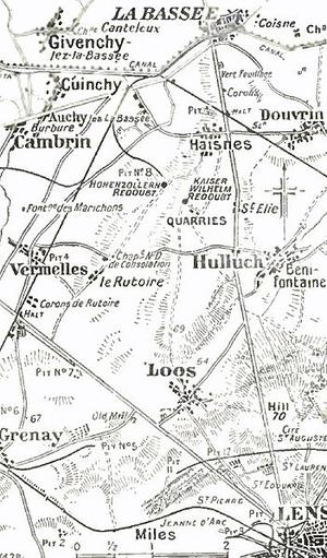 Loss of the Kink Salient - Lens–La Bassée area