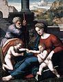 Leonardo Da Pistoia - The Holy Family with the Infant St John - WGA12675.jpg
