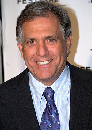 English: Les Moonves at the 2009 Tribeca Film ...