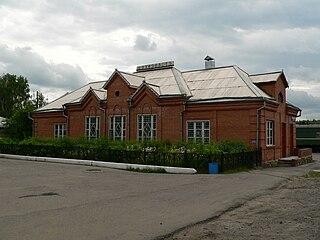 Lesosibirsk Town in Krasnoyarsk Krai, Russia