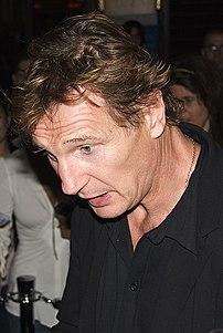 "Liam Neeson at the world premiere of ""Seraphim..."