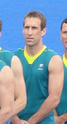 Liam de Young - 2012 Olympic field hockey team Australia (cropped).JPG