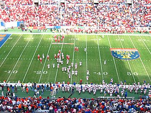 2004 Boise State Broncos football team - Boise State and Louisville square off in the 2004 Liberty Bowl in Memphis, Tennessee.