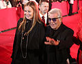 Life Ball 2013 - magenta carpet Eva and Roberto Cavalli 02.jpg