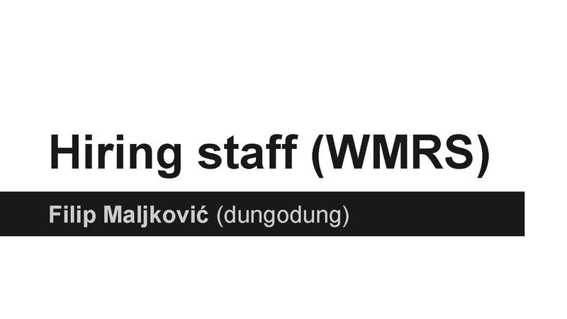 File:Lightening Talk - WMRS - Hiring staff.pdf