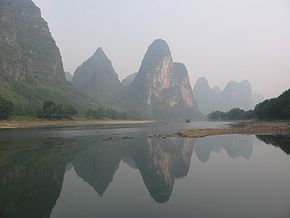 Lijiang river, Guangxi, China.jpg