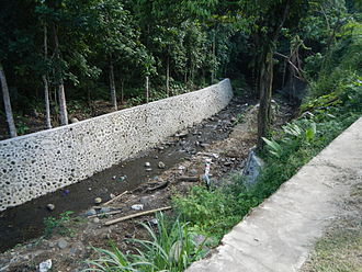 Revetment - Revetment along Oples River (Liliw, Laguna)