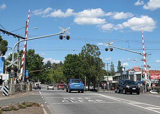 Lilydale, Victoria - Railway Crossing