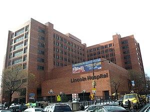 Lincoln Hospital (Bronx) - Image: Lincoln Hospital Morris Av jeh