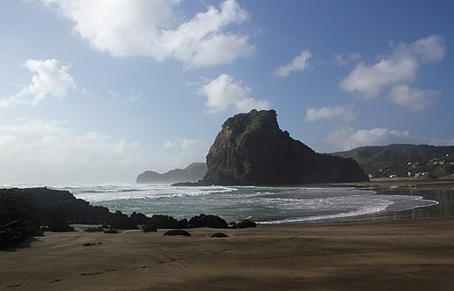 Lion Rock from South Piha