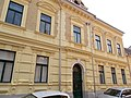 Listed dwelling house ID 3816. Historicist architecture, 1860s. - 19, Arany János St., Downtown, Székesfehérvár,Fejér county, Hungary.JPG
