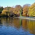 Lister Park Lake, Bradford (6th November 2010).jpg