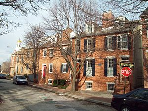 Otterbein, Baltimore - The Little Montgomery Street Historic District within Otterbein