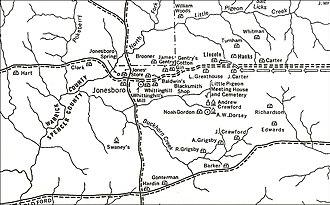 Little Pigeon Creek Community - Little Pigeon Creek Community map