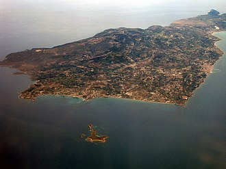 Paliki - The peninsula from southeast