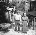 Liza Gorenščkova in Franc Gorenšček 84 let, Sužid 1951.jpg