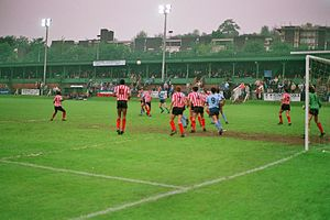 Loakes Park - President's Cup final v Brentford at Loakes Park (Thursday 12 May 1988)