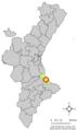 Localització de Benirredrà respecte del País Valencià.png