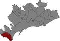 Localització de Salou al Tarragonès.png