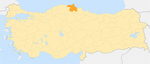 Locator map-Sinop Province.png