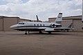 Lockheed L-1329 JetStar II LSideFront CFM 7Oct2011 (15138572068).jpg