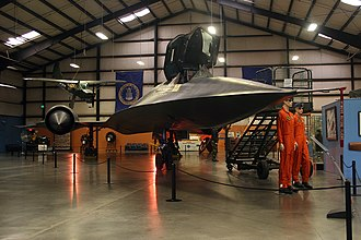 March Field Air Museum - SR-71 on display