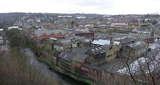 Lockwood, Huddersfield area in Huddersfield, West Yorkshire, UK