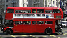 London General Routemaster bus (RML class), Piccadilly Circus, route 14, 8 June 2005.jpg