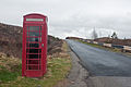 Lonely telephone, Sutherland, Scotland, April 2011 - Flickr - PhillipC.jpg
