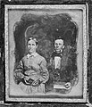 Lorenzo and Lucia Lyons, c. 1850, with frame, N-1521, Mission Houses Museum Archives.jpg