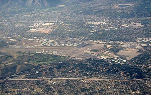 Brackett Field - Image: Los Angeles County Fairgrounds from United 41 (7177774100)
