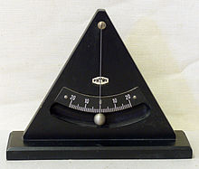 Plumb Bob With Scale As An Inclinometer