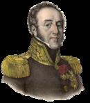 Portrait of Louis Gabriel Suchet in uniform