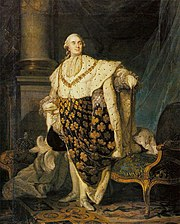 Louis XVILast King of Early France. By Joseph Siffred (1775).