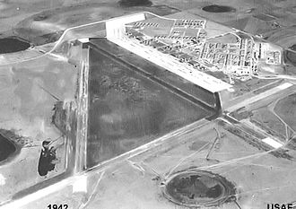 Reese Air Force Base - Early World War II photograph of Lubbock Army Airfield, 1942