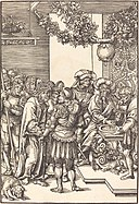 Lucas Cranach the Elder, Pilate Washing His Hands, in or before 1509, NGA 37084.jpg